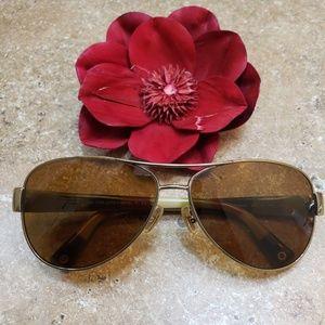 Coach Kristina Prescription Aviator Sunglasses